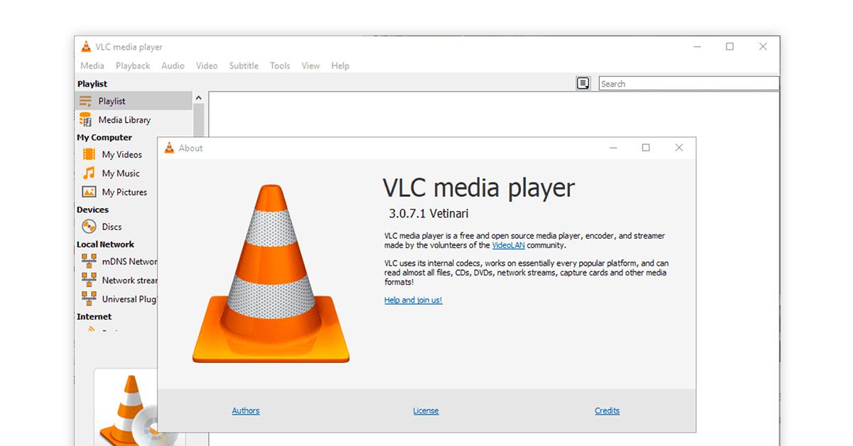 VLC Media Player Software