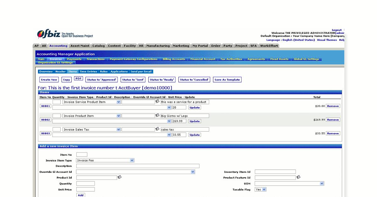 free ERP tool