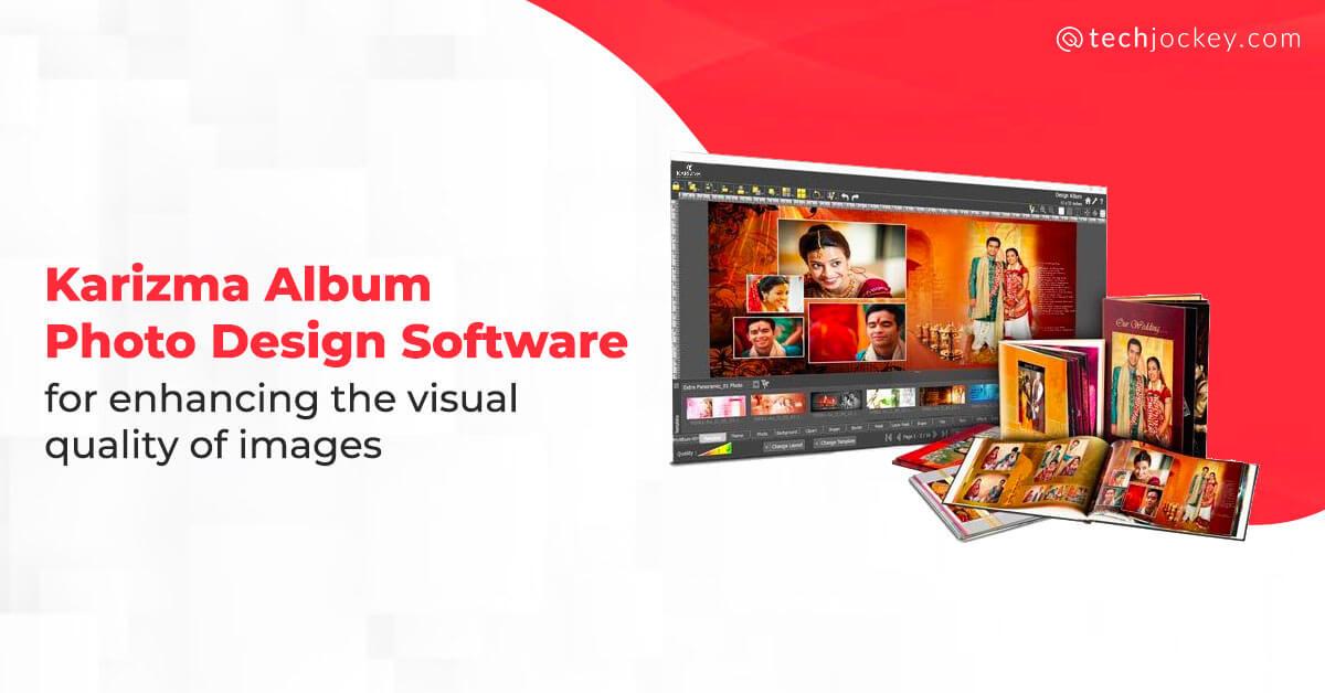 Karizma album design software