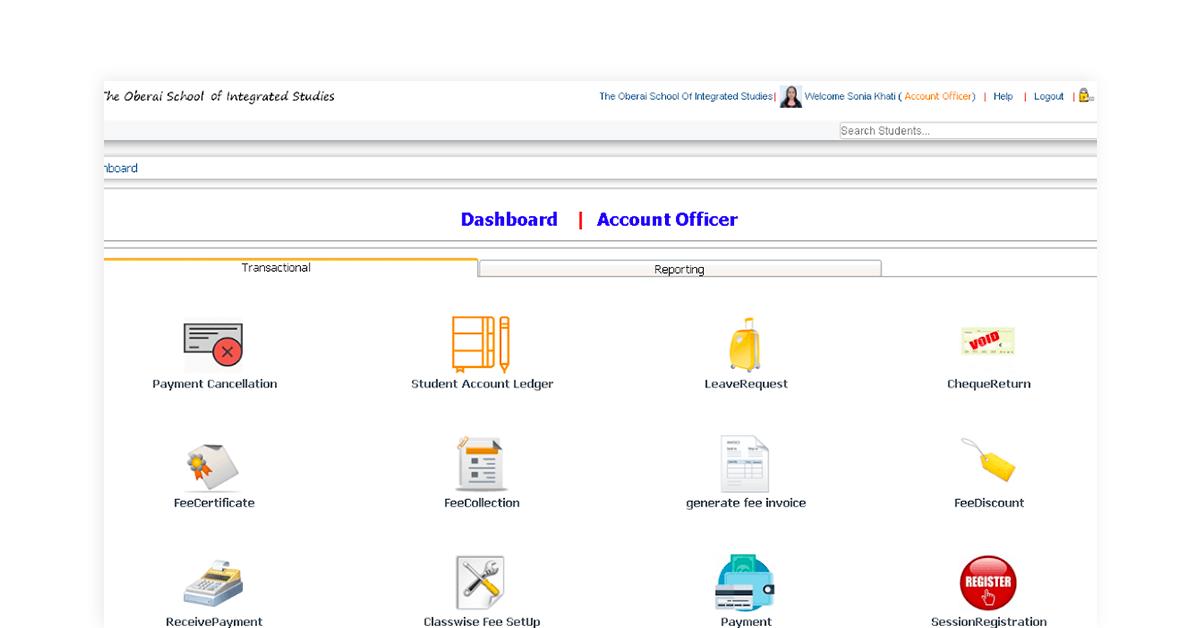 vedanta free online erp software