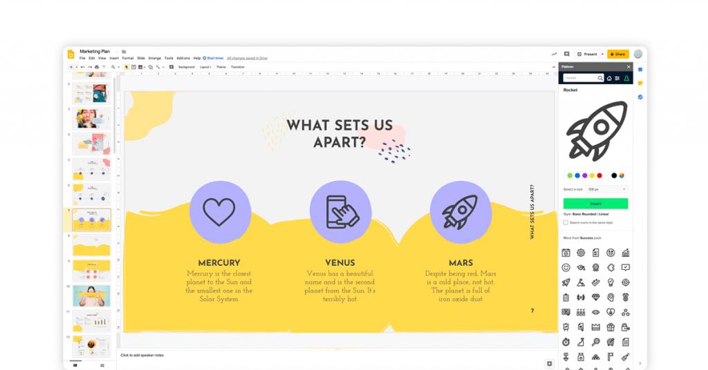 powerpoint alternatives free - google slides