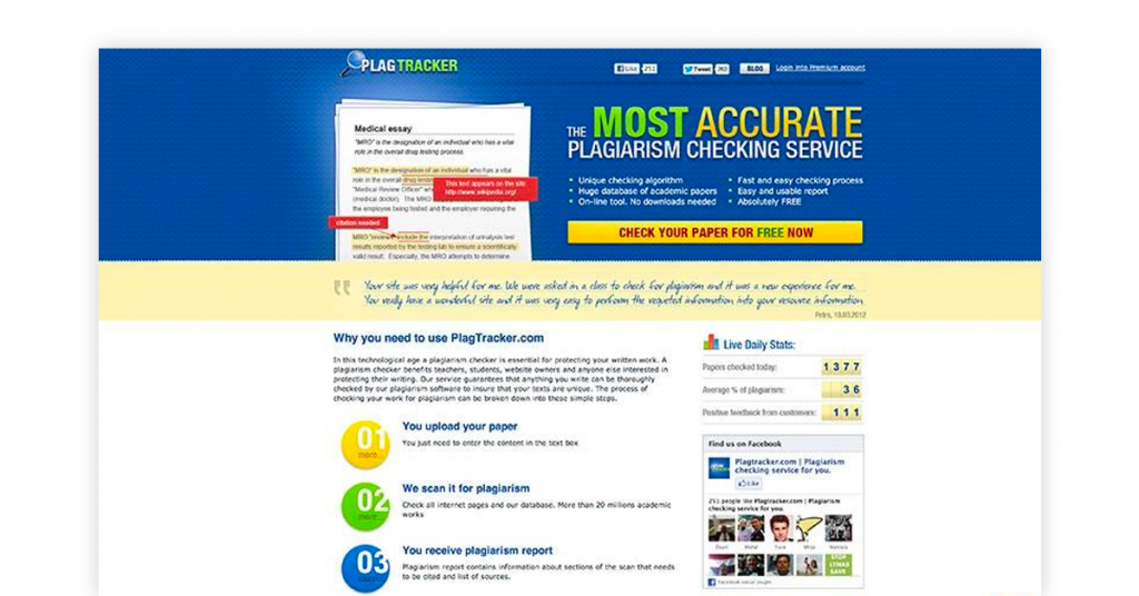 research paper plagiarism checker free - plag tracker
