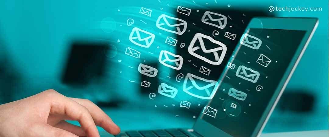 Bulk emails software