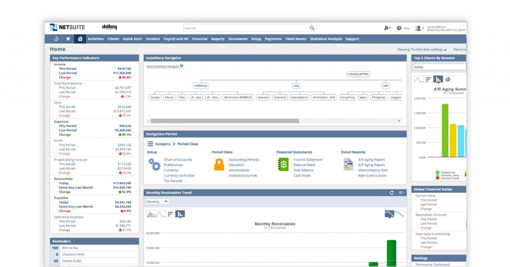 netsuite system