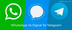 WhatsApp vs signal vs Telegram