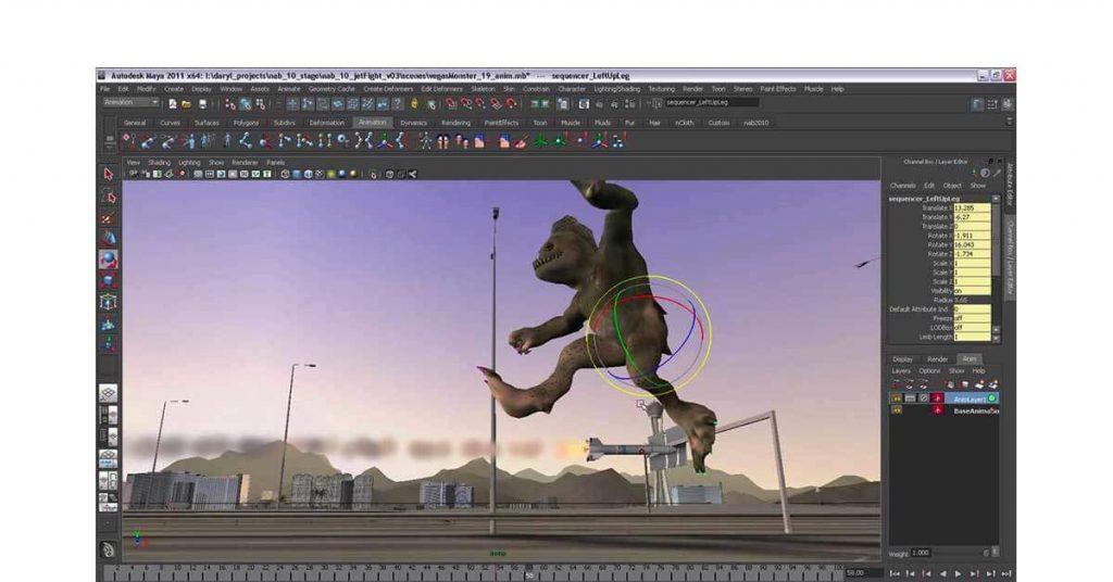 best free vfx software for pc - Autodesk Maya