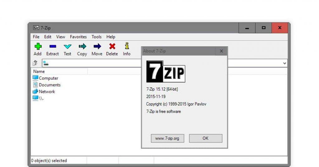 Best ZIP software | 7Zip