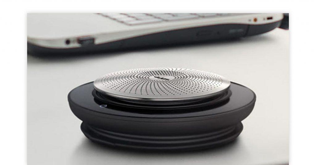 Poly Calisto 3200 and Jabra speakers