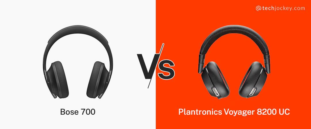 Bose 700 vs Plantronics Voyager 8200 UC