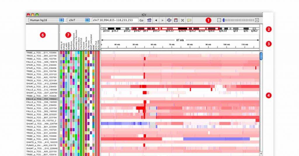 genomic sequencing application