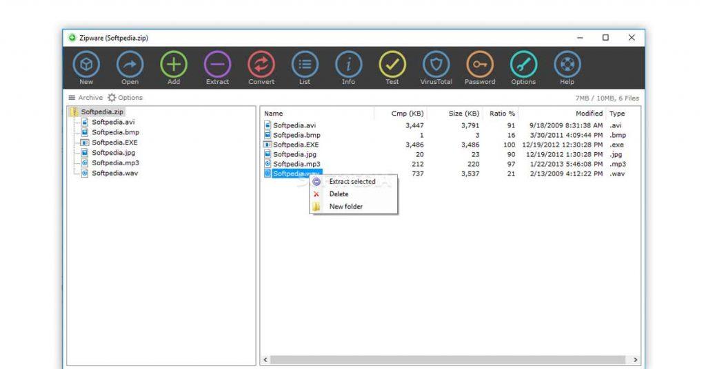 Best File compressor | Zipware