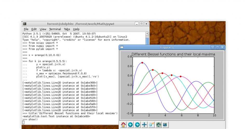 SciPy analysis solution