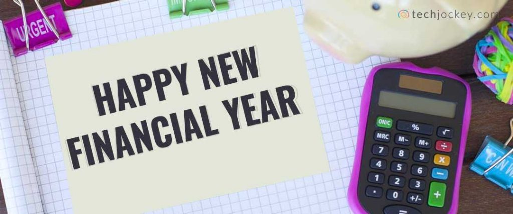 Changes in new financial year