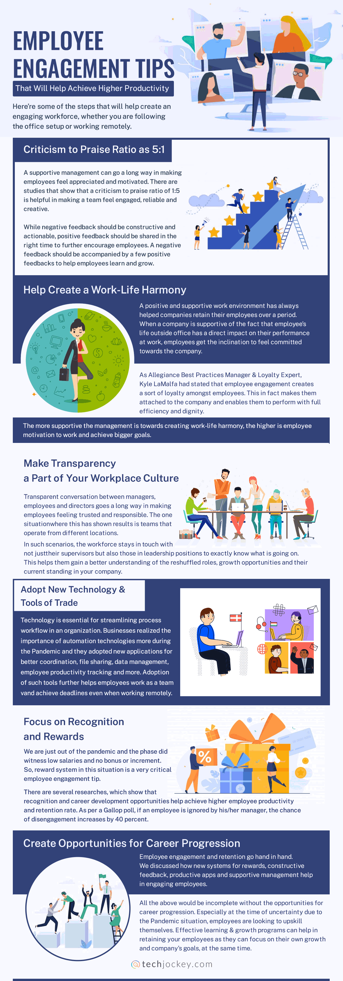 Employee Engagement Tips That Will Help Achieve Higher Productivity