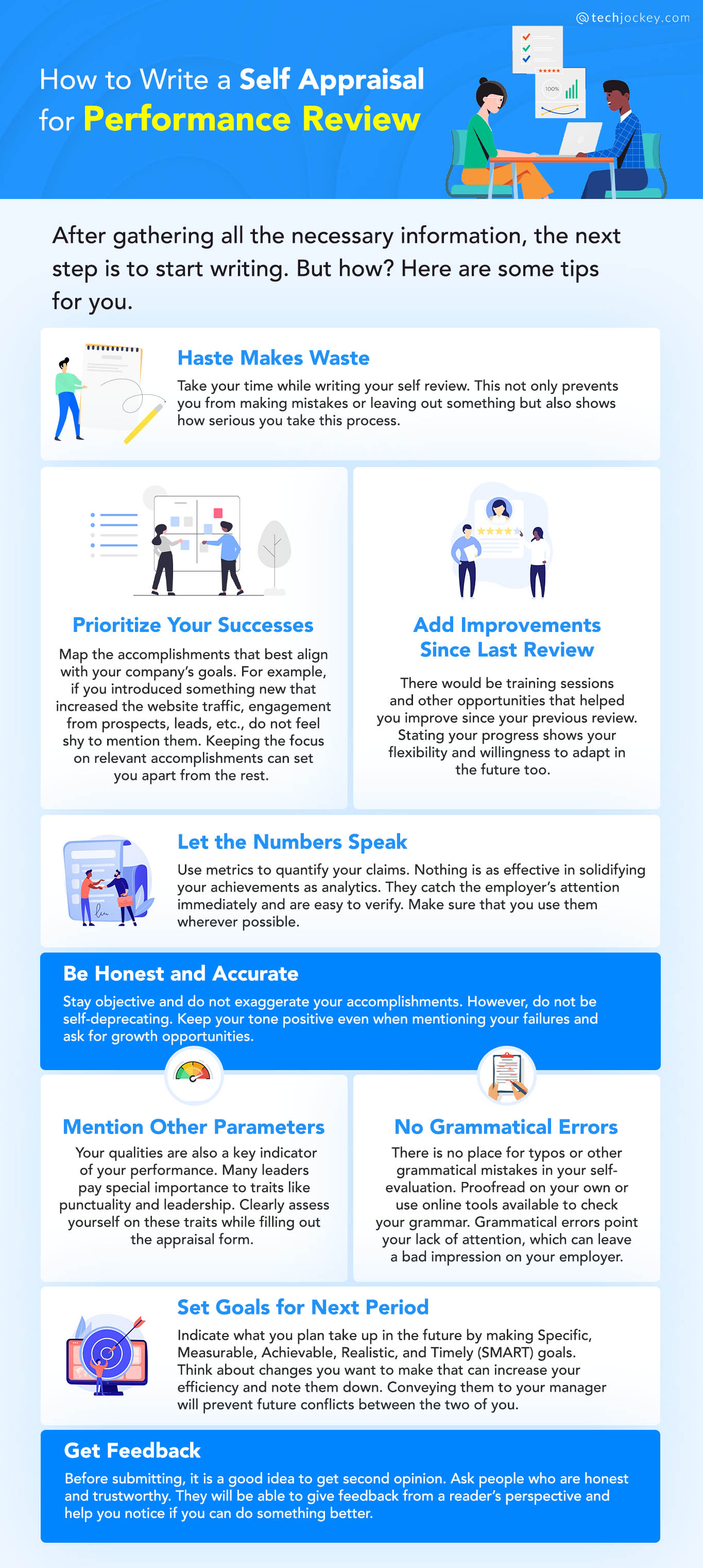 How to Write a Self Appraisal for Performance Review