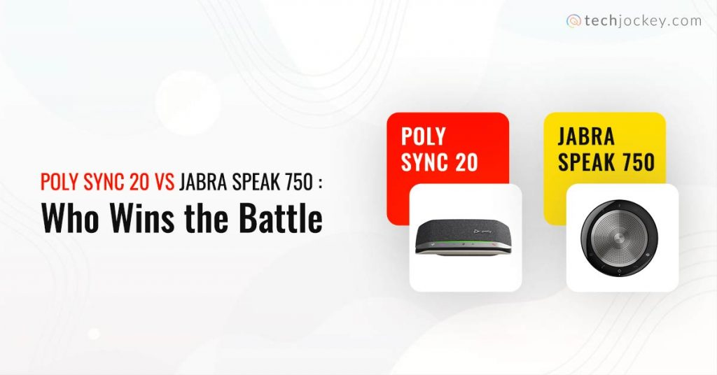 Poly Sync 20 vs Jabra Speak 750