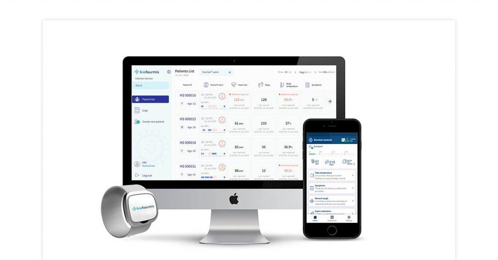 BioVitals remote health monitoring
