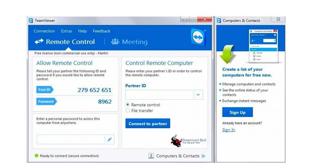 Teamviewer Remote Access Software