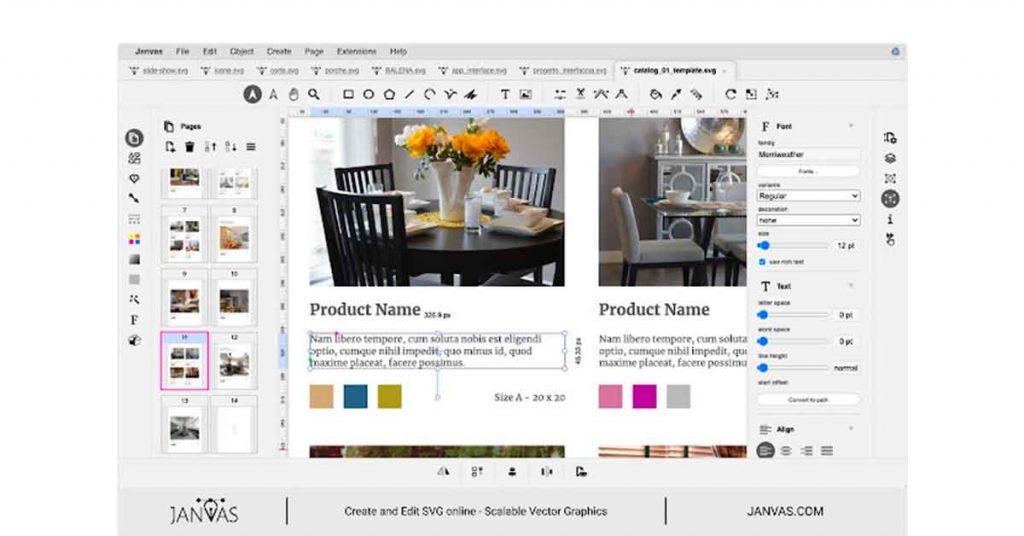 Janvas Online SVG Editor