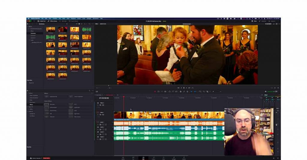 Marriage video editing software