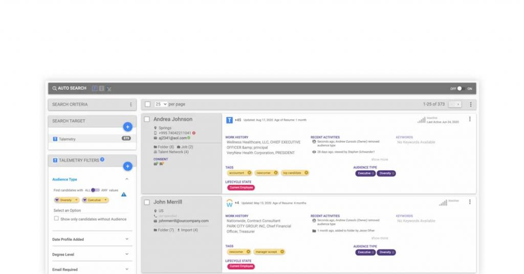 candidate sourcing tools
