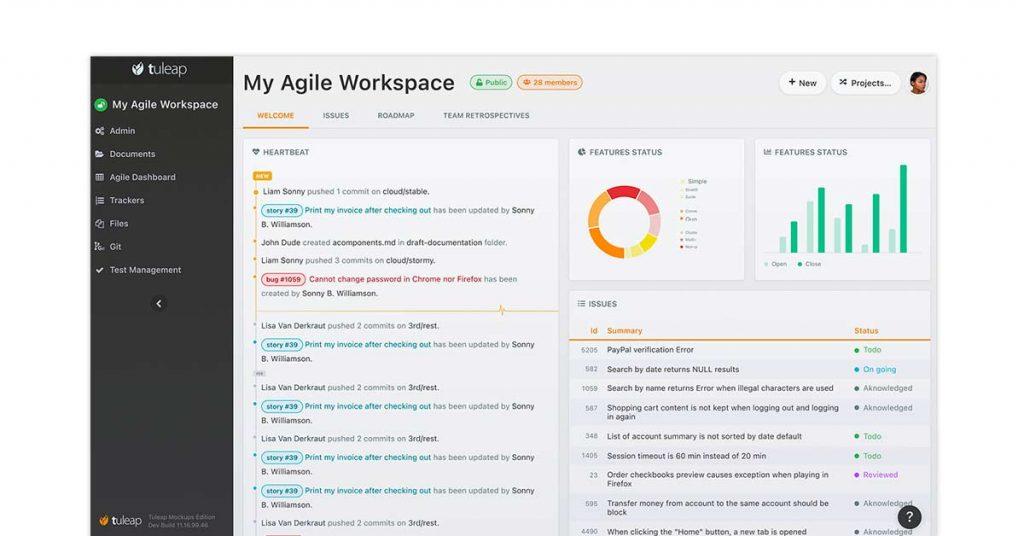 Tuleap agile project management platform