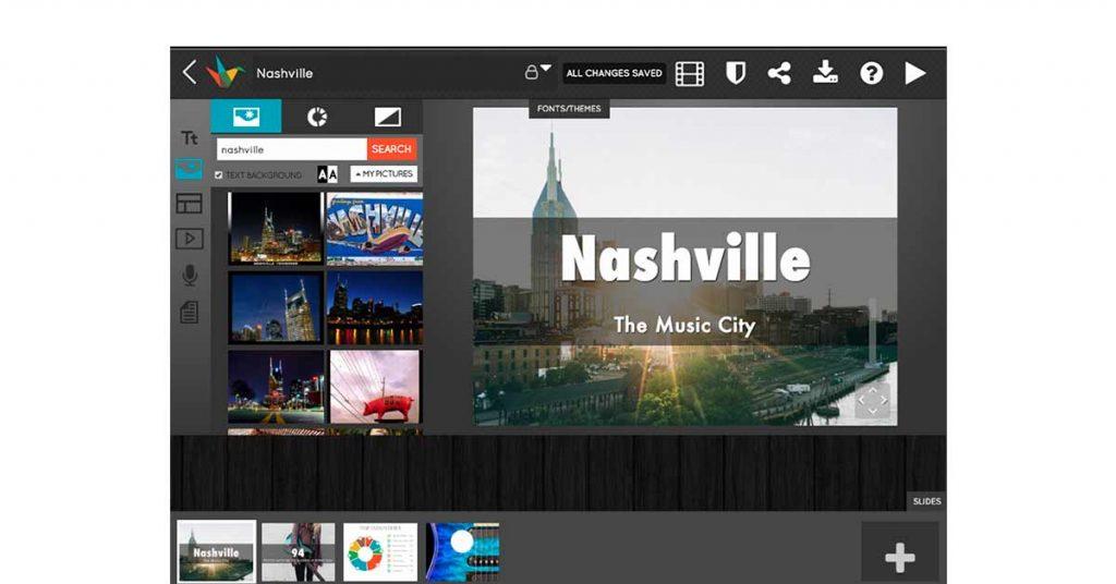 Haiku Deck online presentation tool