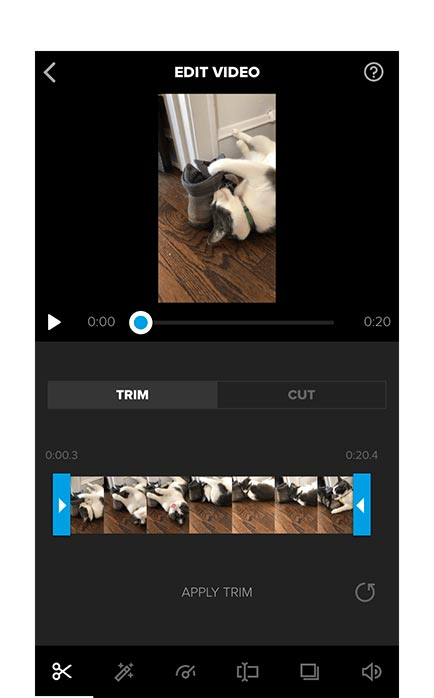 Splice Best Gaming video editor for android