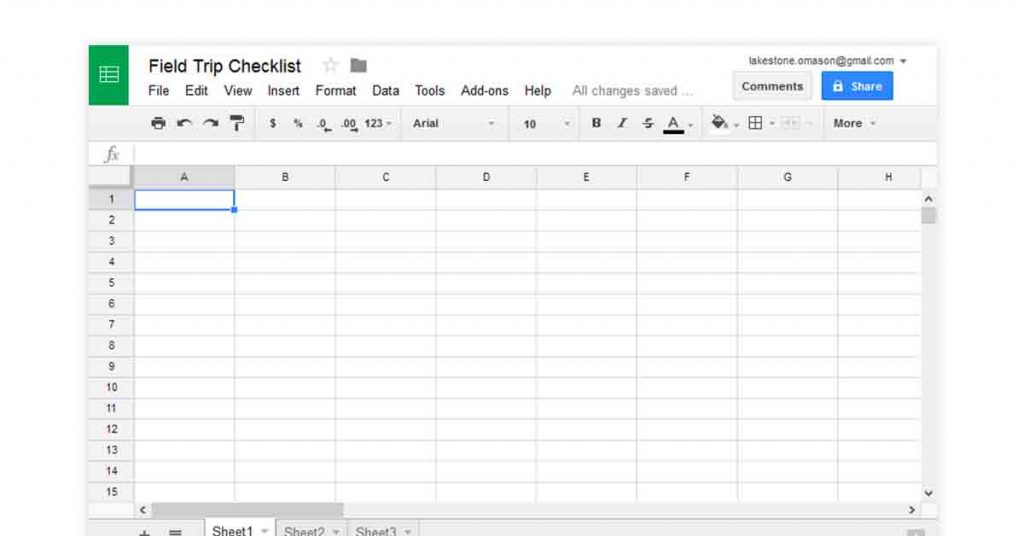 Google sheets free spreadsheet program