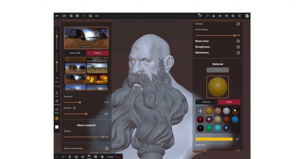 SculptGL open-source cam software
