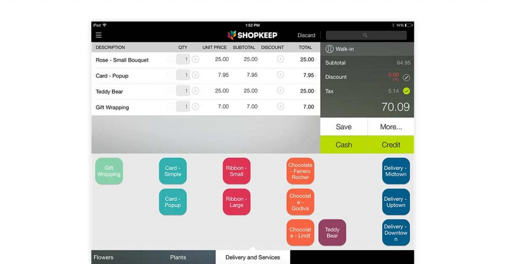 ShopKeep retail store software