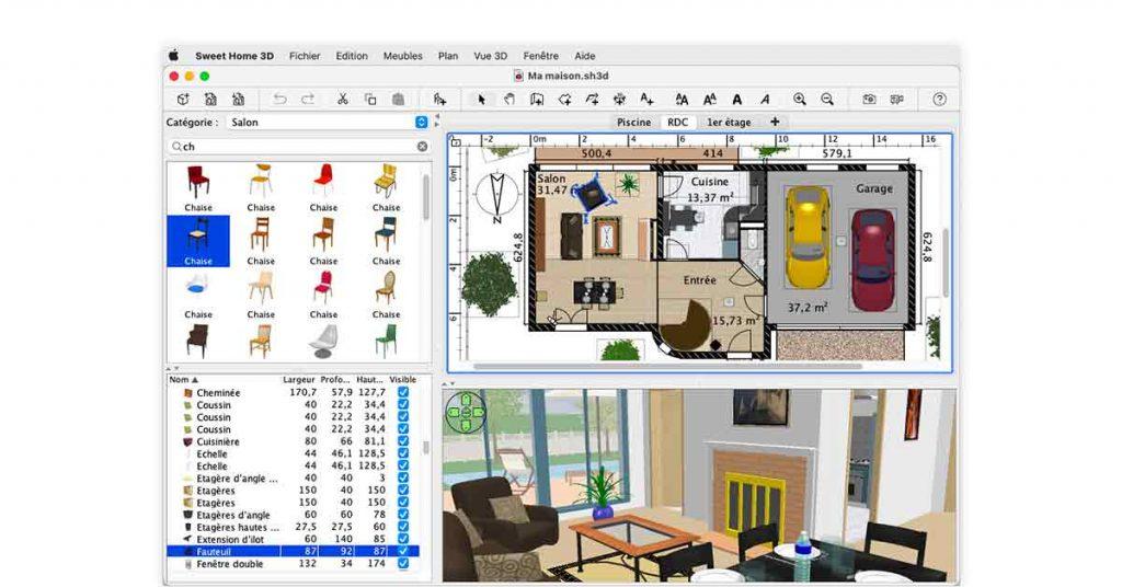 interior design 3d software